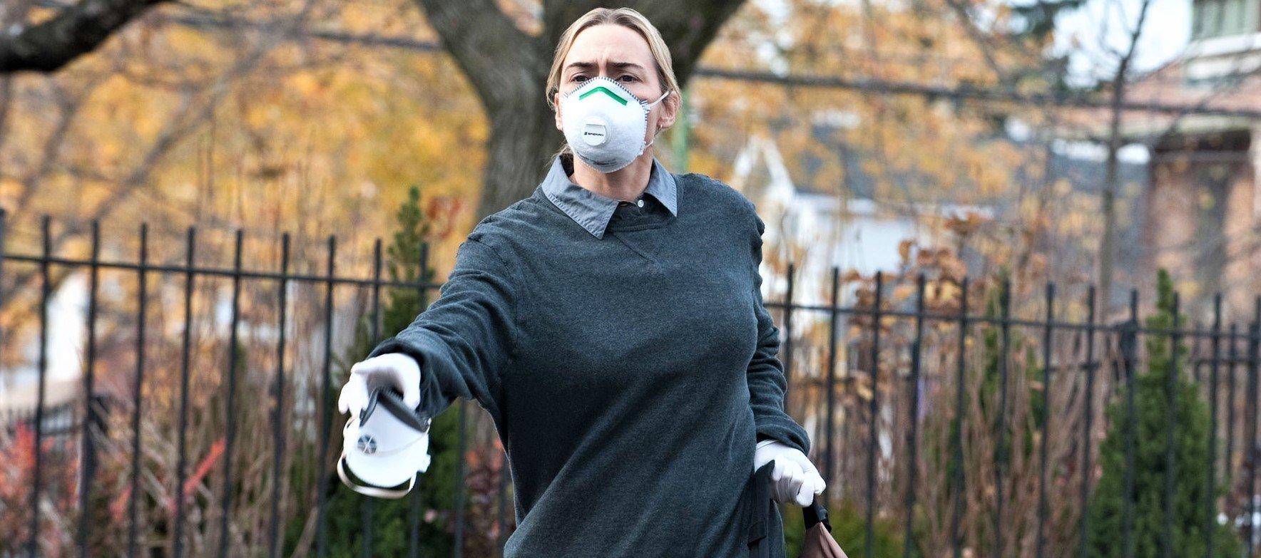 Kate Winslet in Contagion di Steven Soderbergh