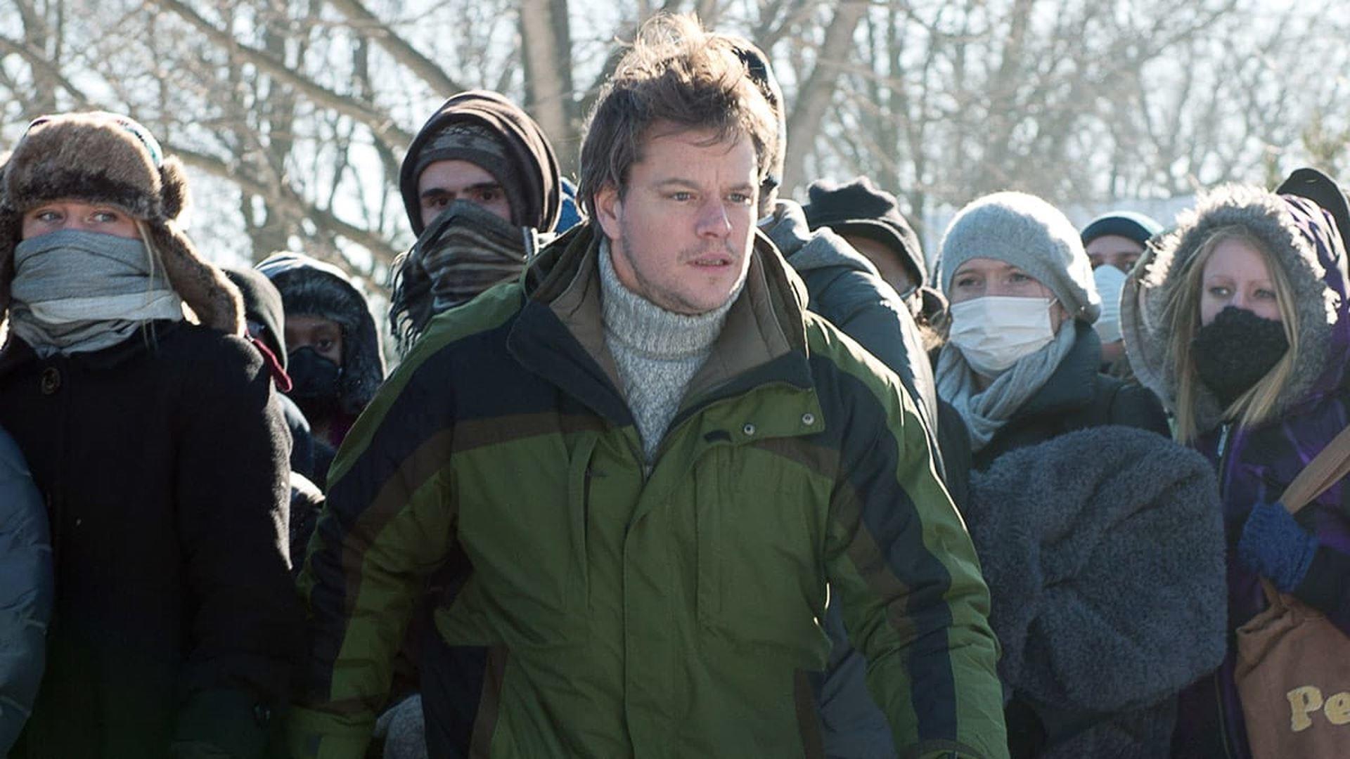 Matt Damon in Contagion di Steven Soderbergh