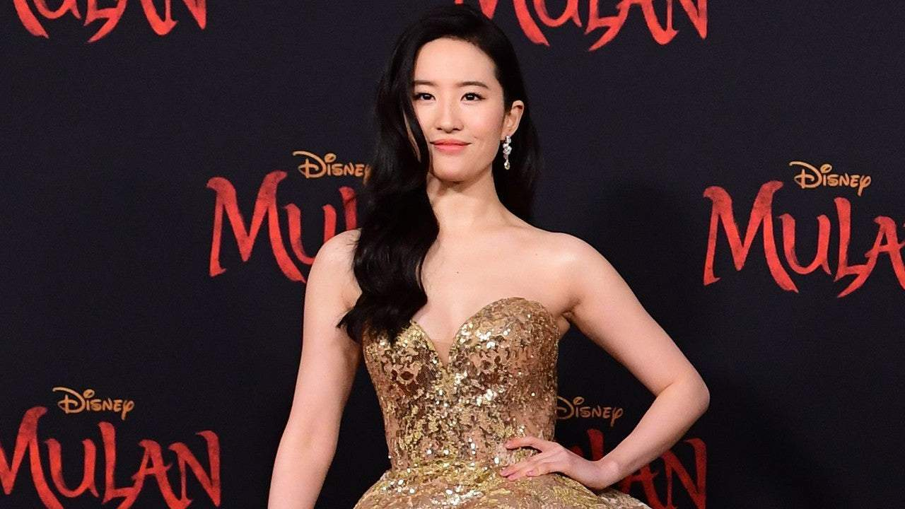 Liu Yifei alla premiere mondiale di Mulan