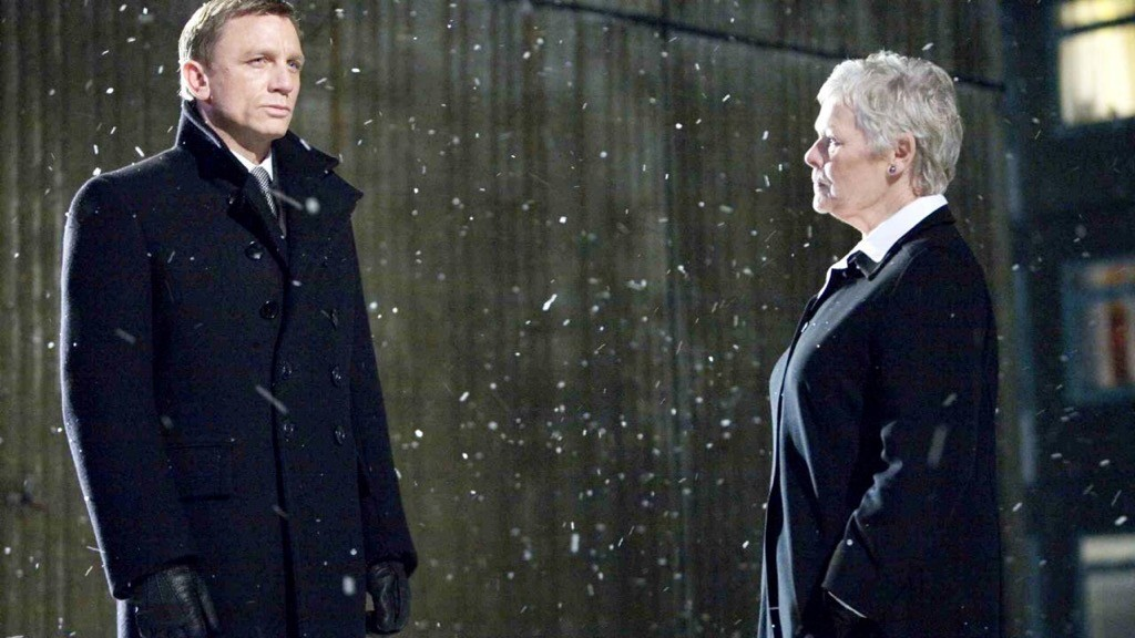 Mai un sorriso per James Bond (Daniel Craig) ed M (Judi Dench) in Quantum of Solace