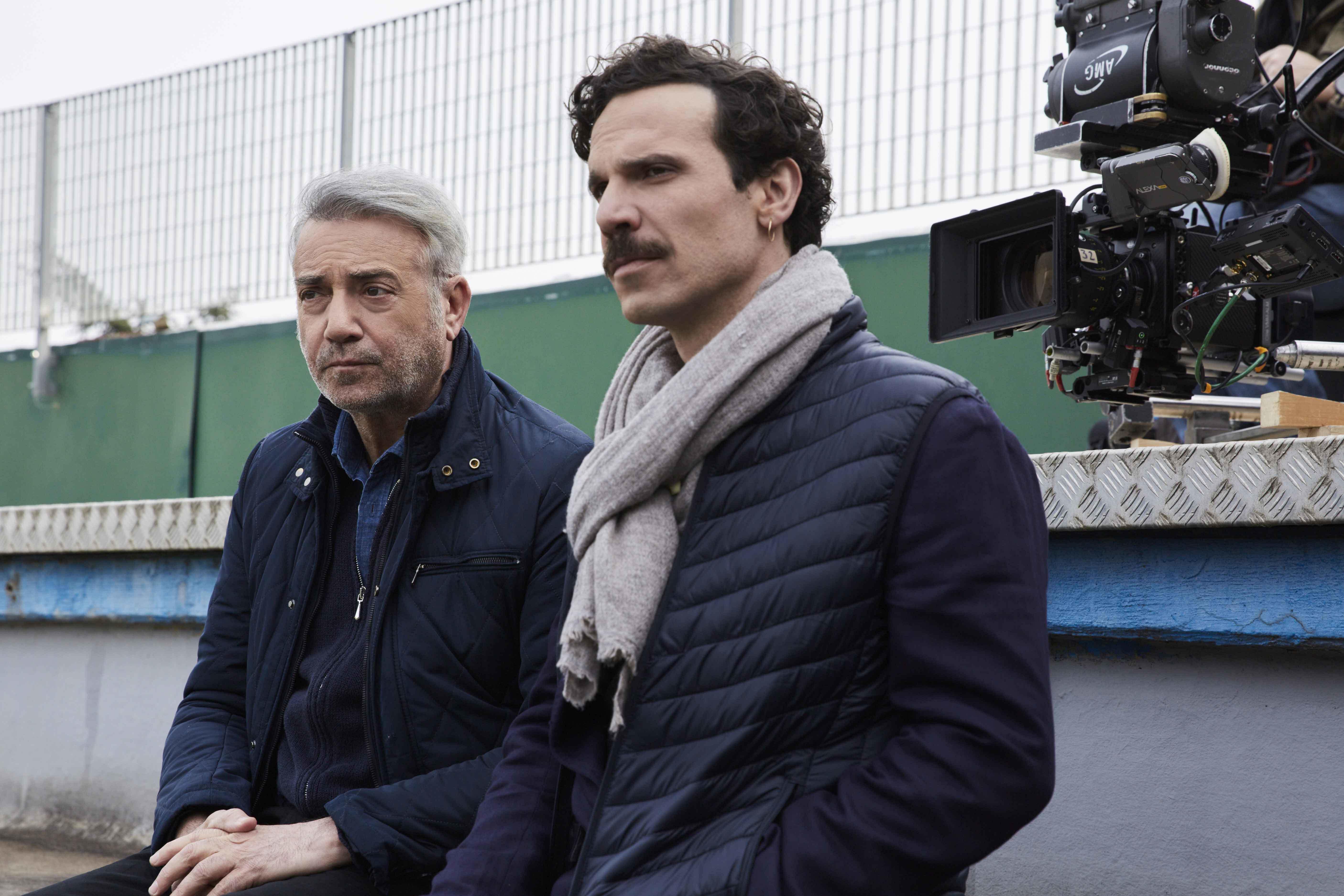 Massimo Ghini e Francesco Montanari