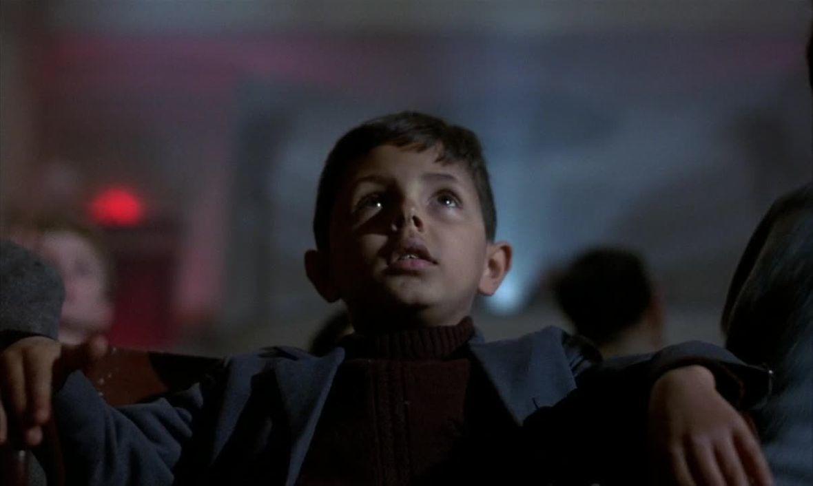 Totò Cascio in Nuovo Cinema Paradiso