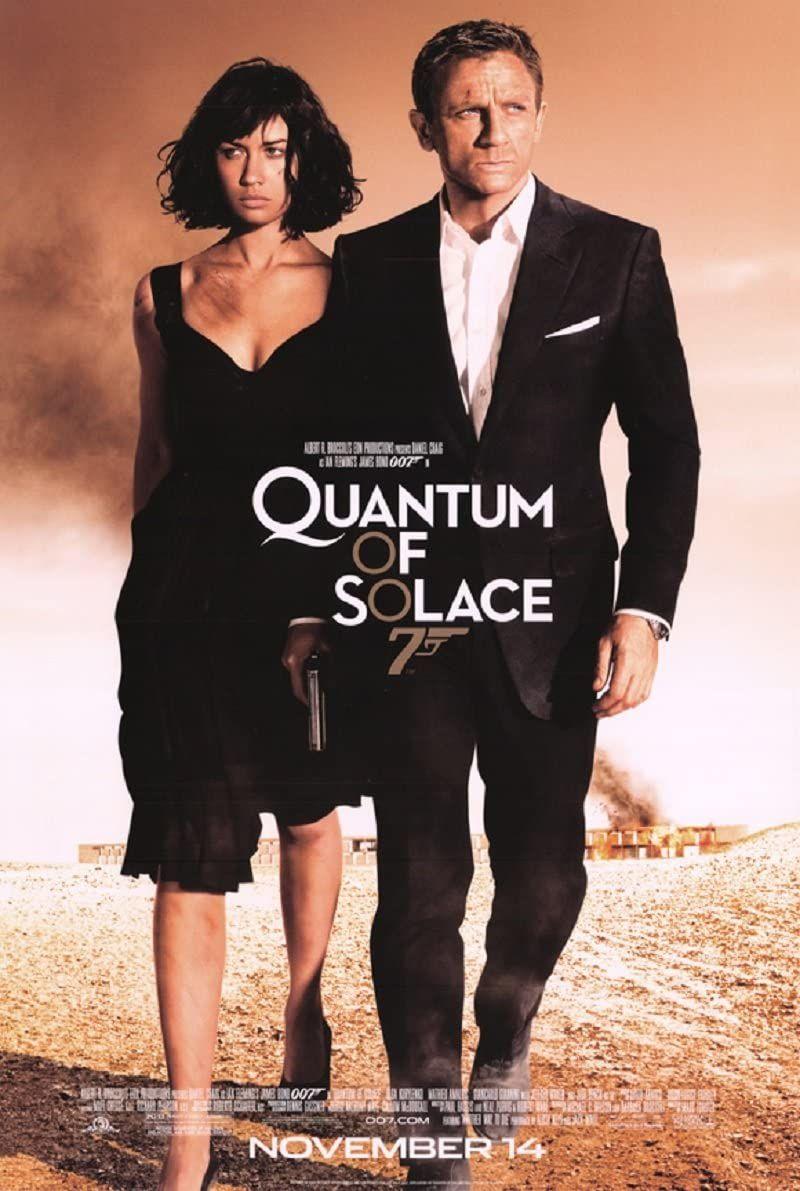 Il poster di Quantum of Solace