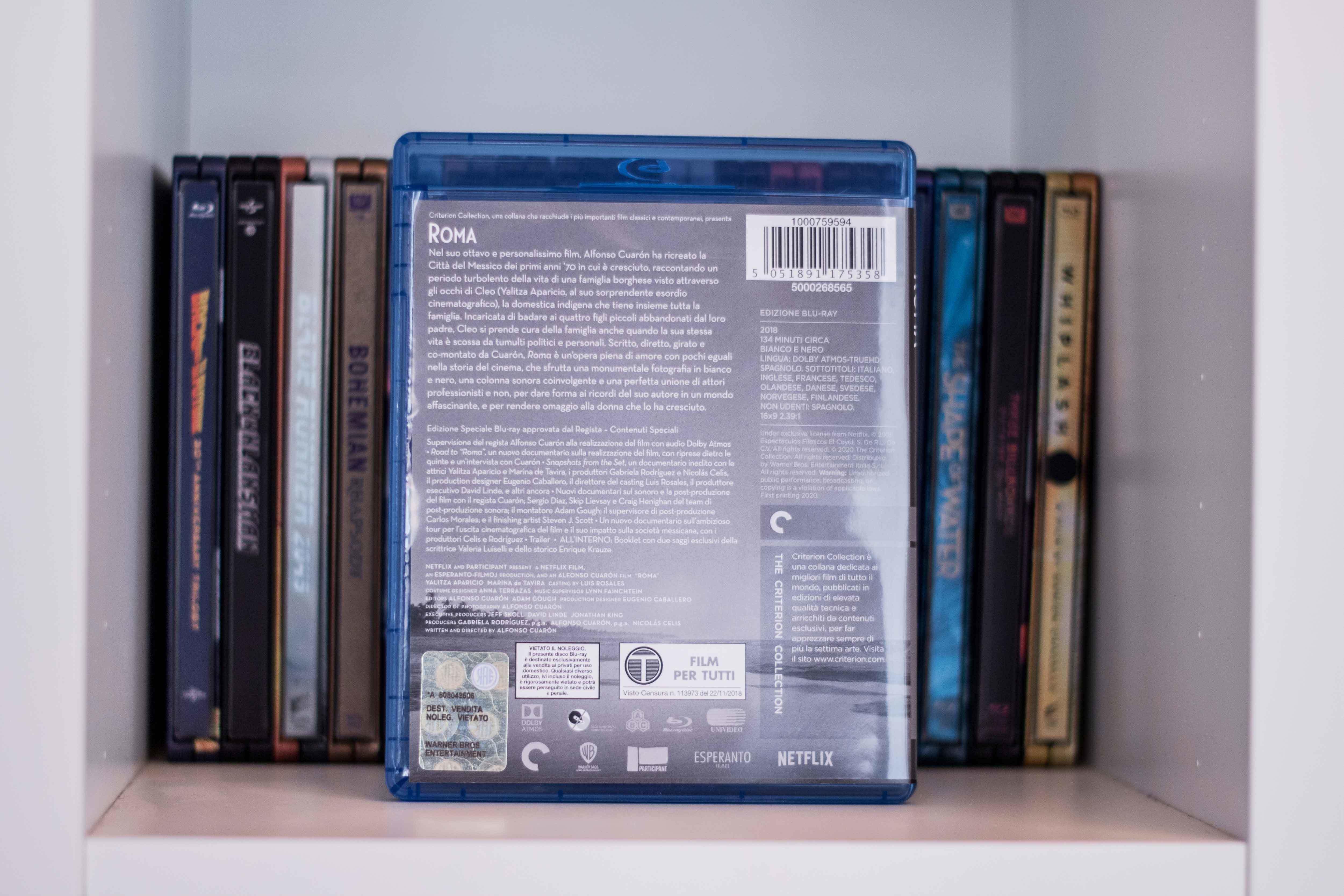 Roma di Alfonso Cuarón in Blu-ray Criterion