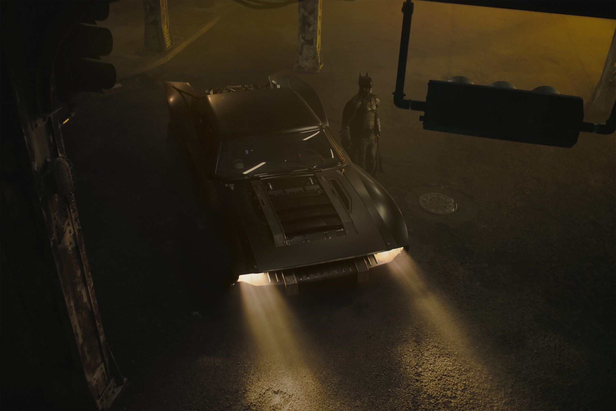 The Batman: la Batmobile di Robert Pattinson