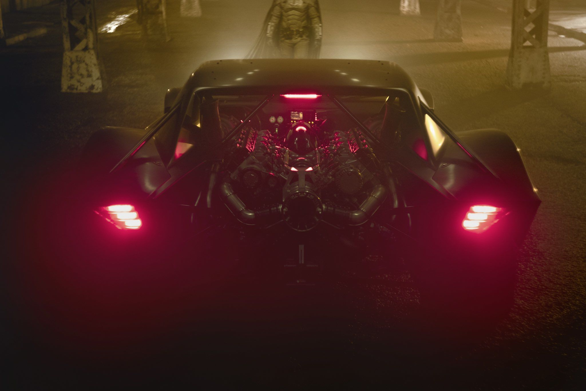 The Batman: la Batmobile del film di Matt Reeves