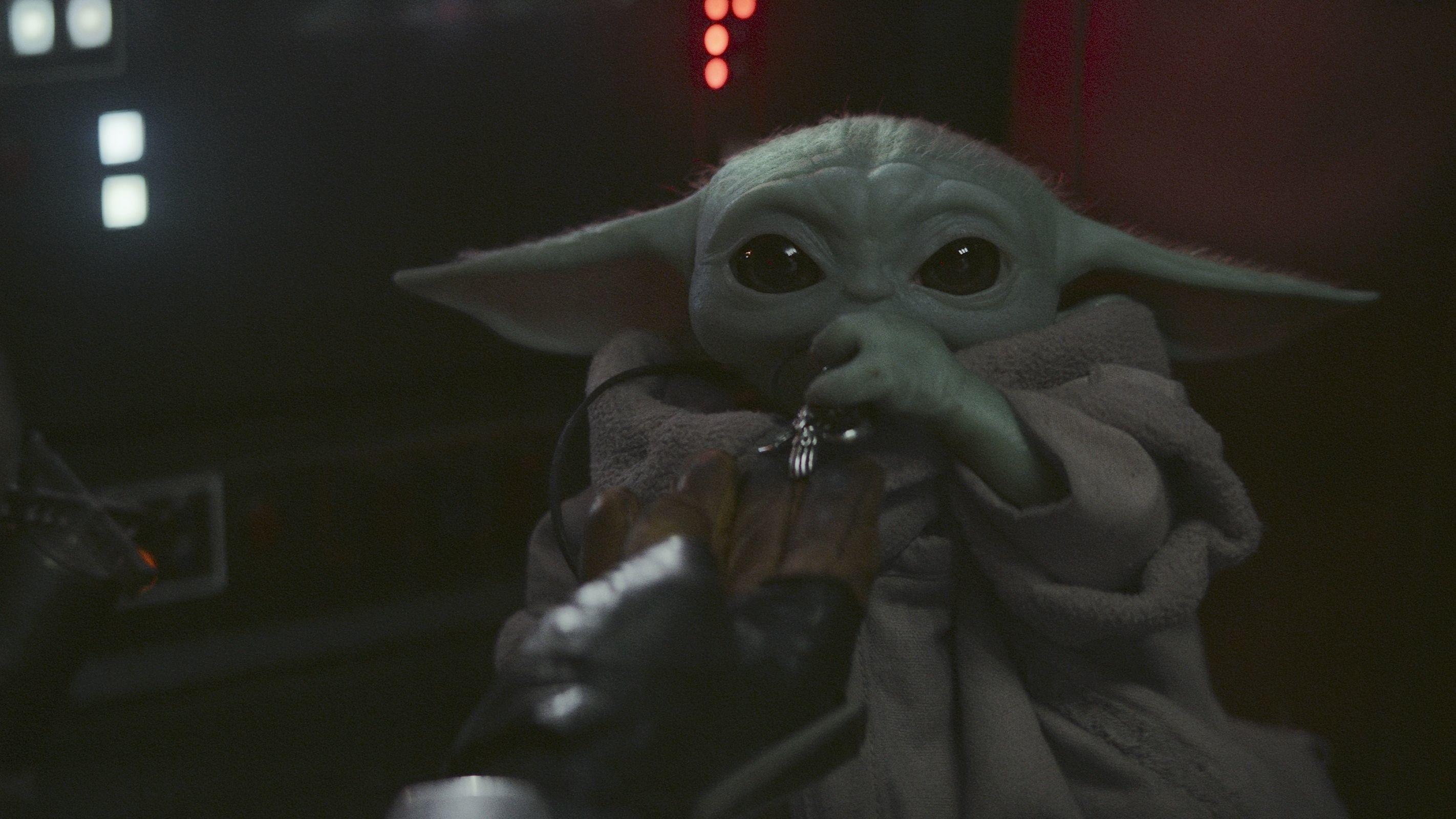 Baby Yoda aka il Bambino