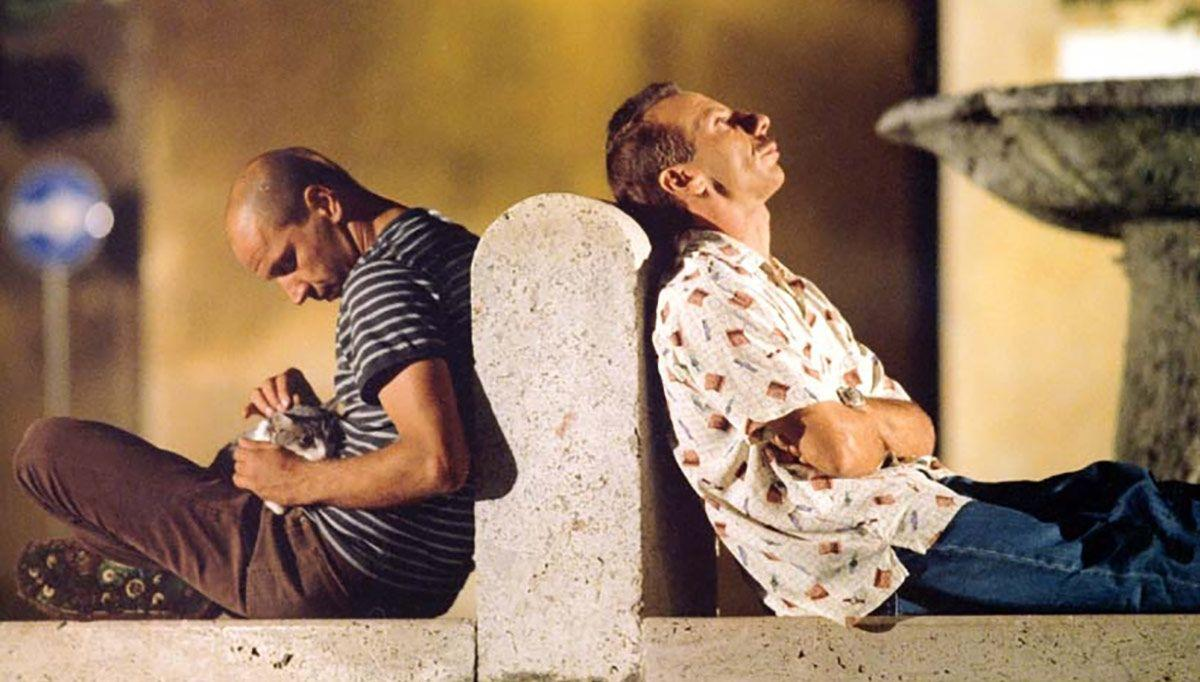 Aldo e Giovanni in Tre uomini e una gamba