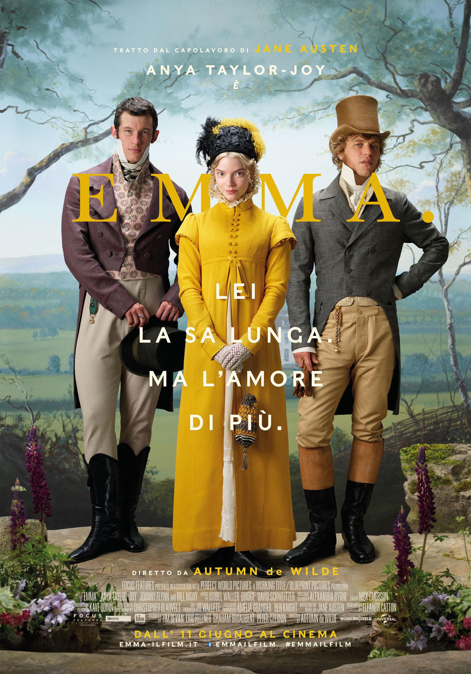Emma. il poster