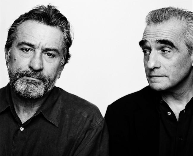 Robert De Niro e Martin Scorsese