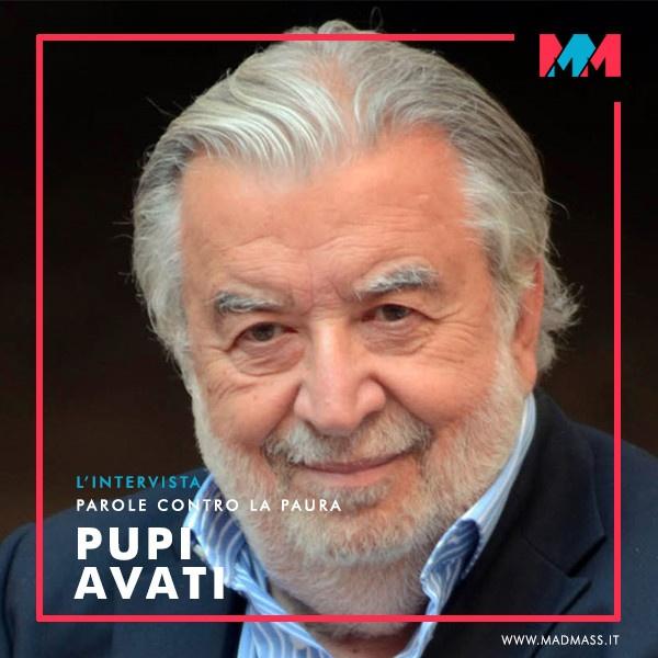 Pupi Avati ospite de L'Intervista: Parole contro la Paura