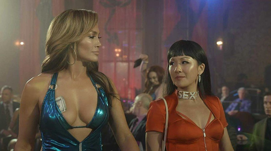 Jennifer Lopez e Constance Wu in Hustlers