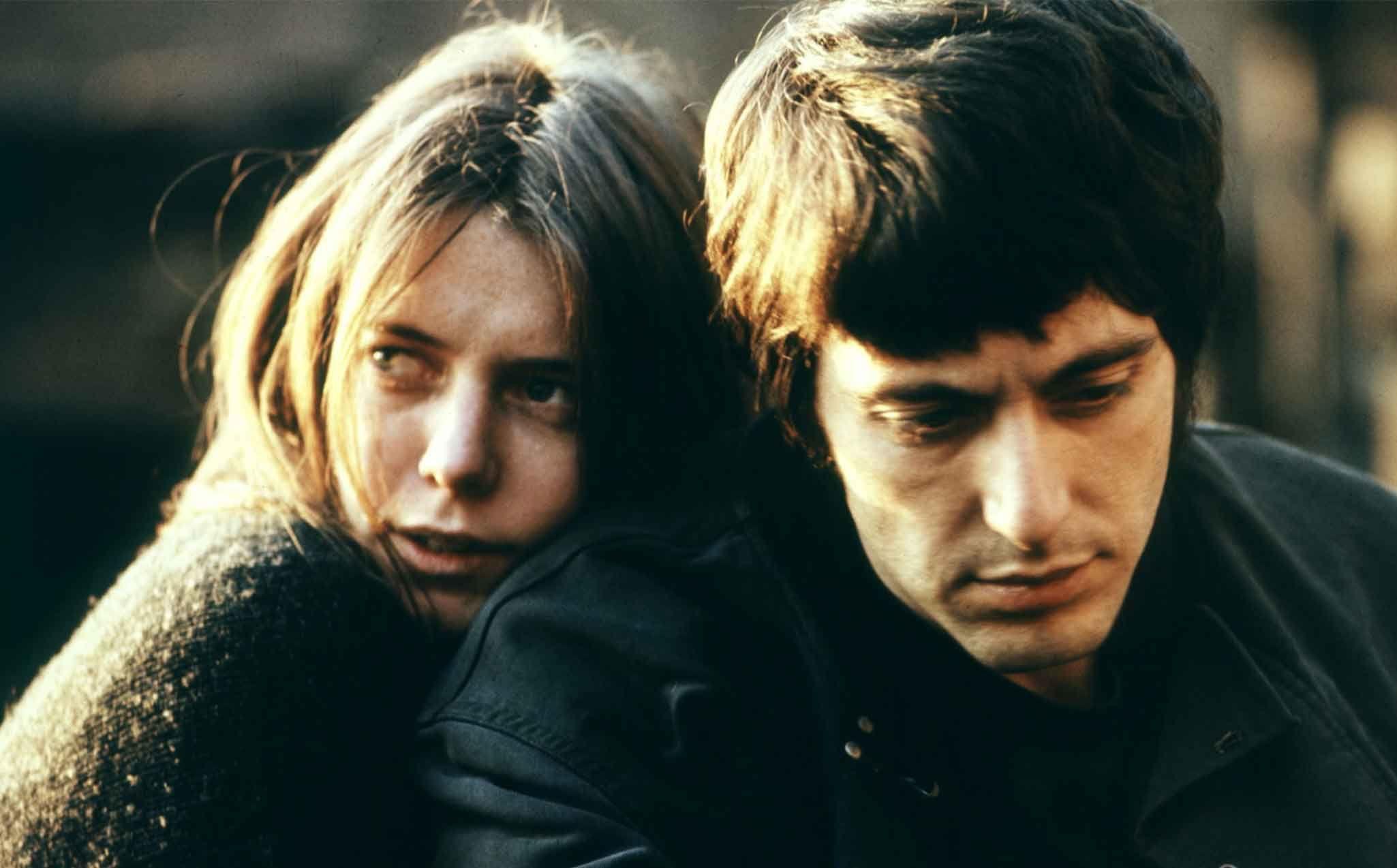 Kitty Winn e Al Pacino in Panico a Needle Park
