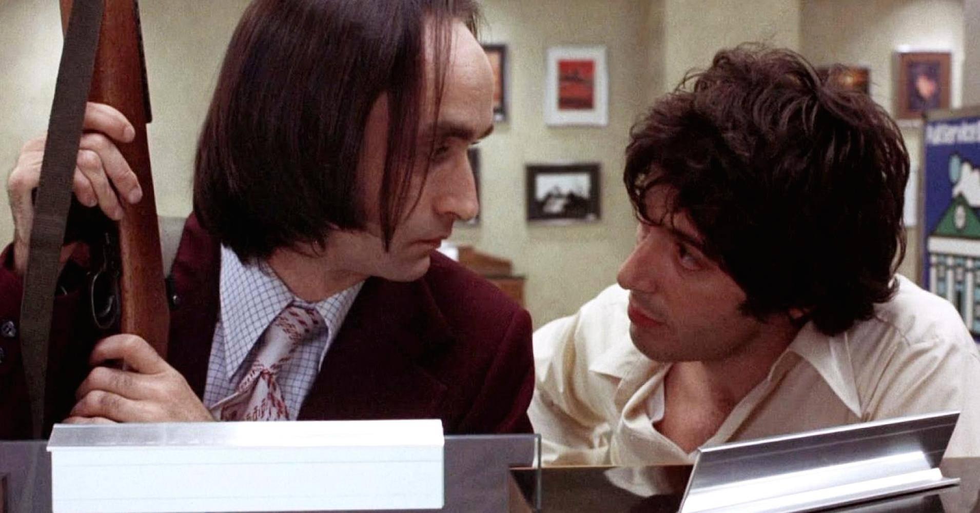 John Cazale e Al Pacino in Quel Pomeriggio di un Giorno da Cani