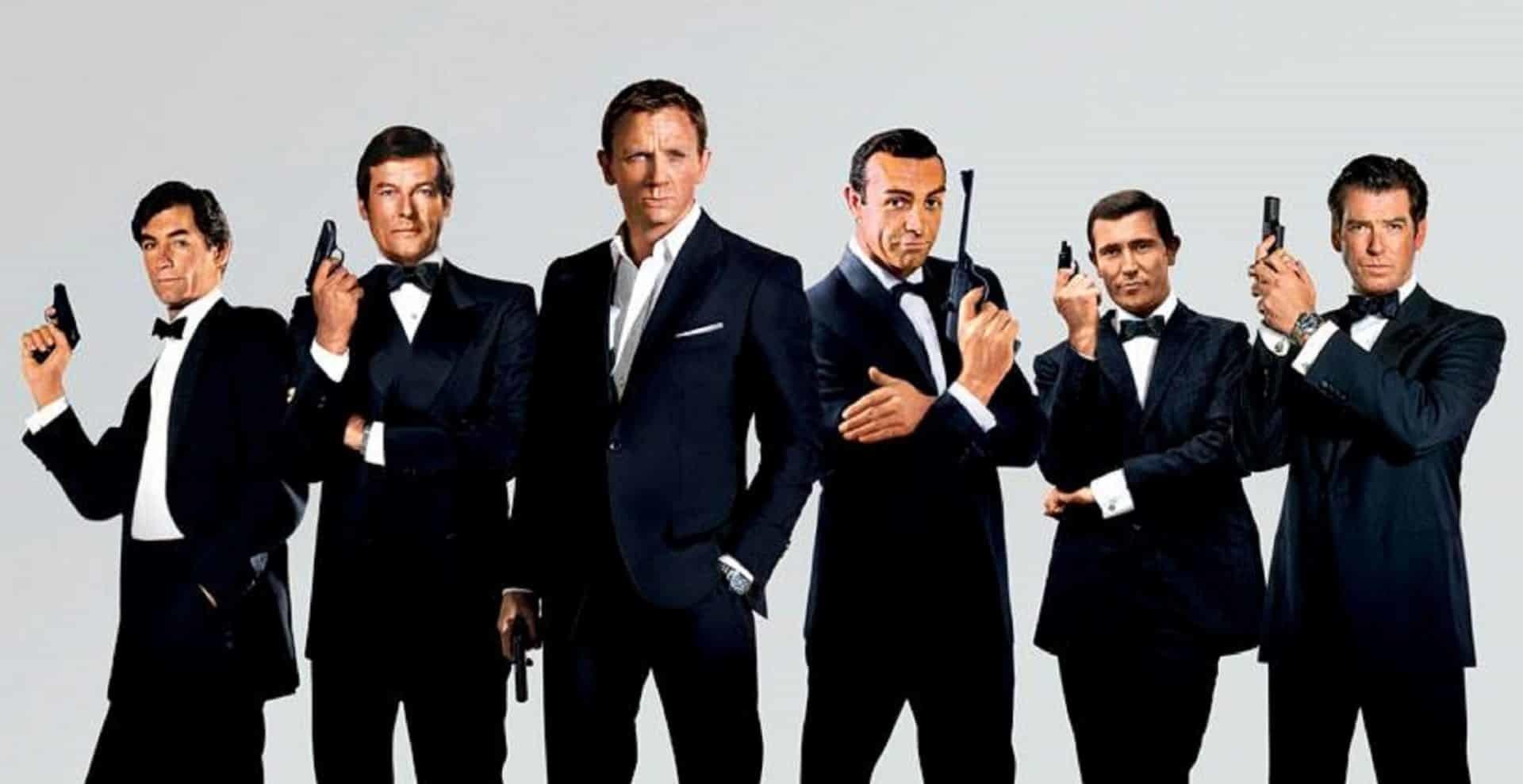 Tutti i James Bond della saga