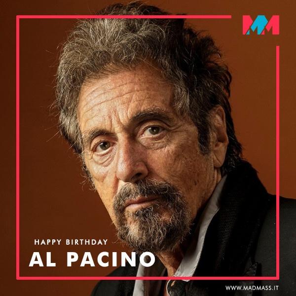 Al Pacino compie 80 anni: buon compleanno