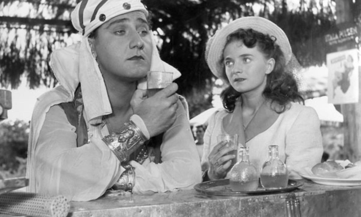 Lo sceicco bianco di Federico Fellini con Alberto Sordi