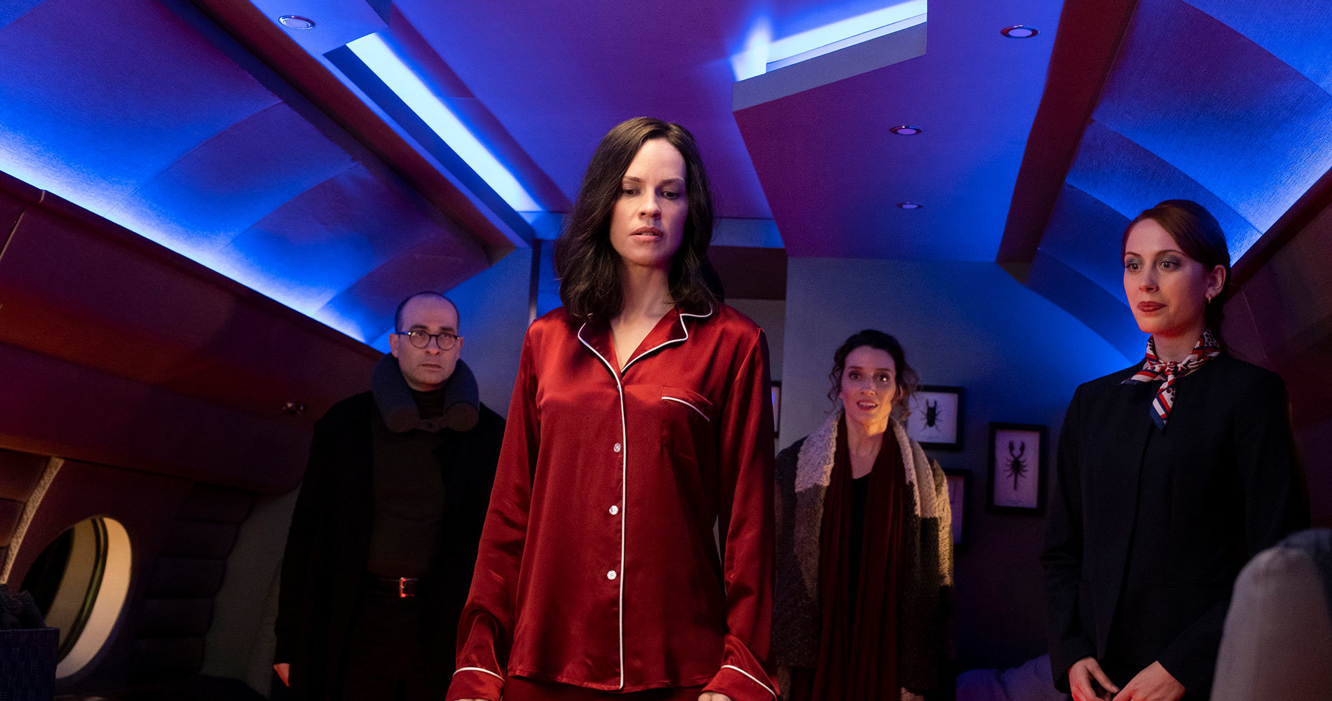 Hilary Swank villain in The Hunt di Blumhouse