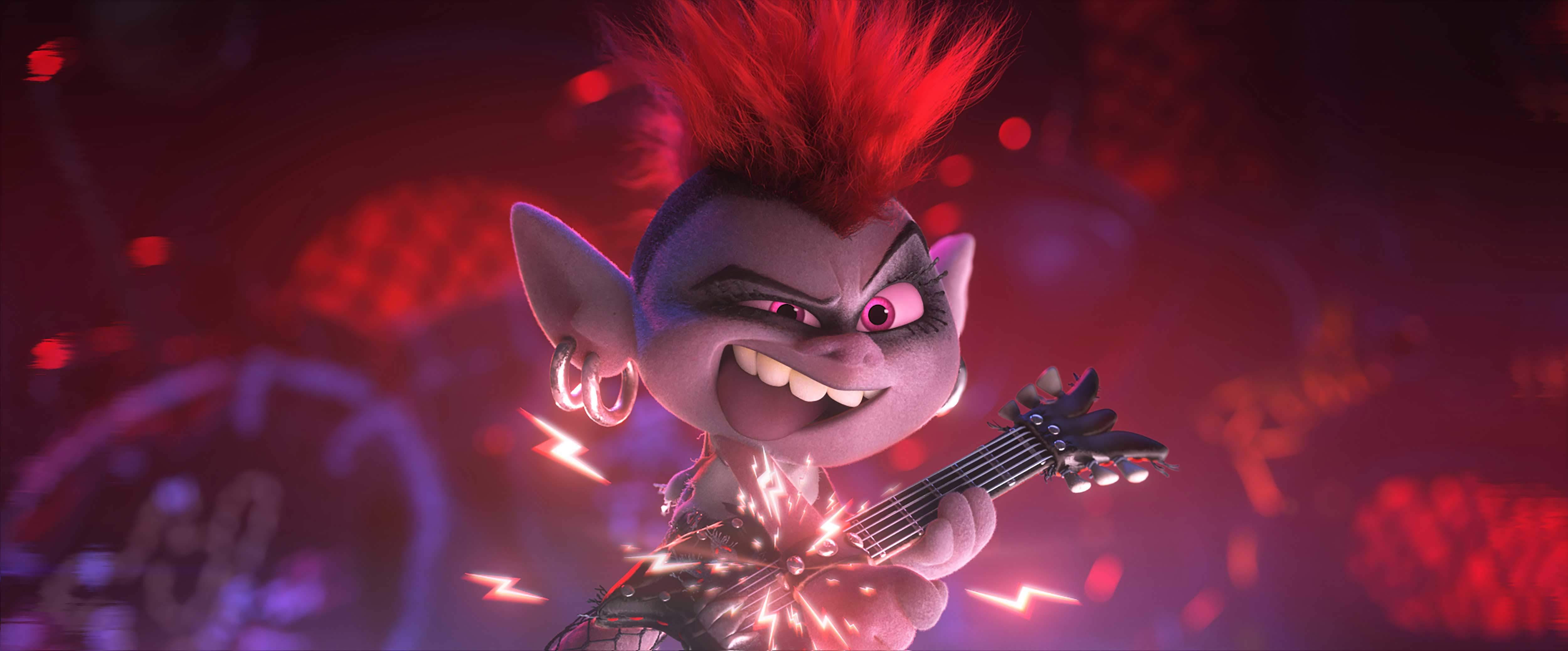 La regina del rock Barb (Elodie)