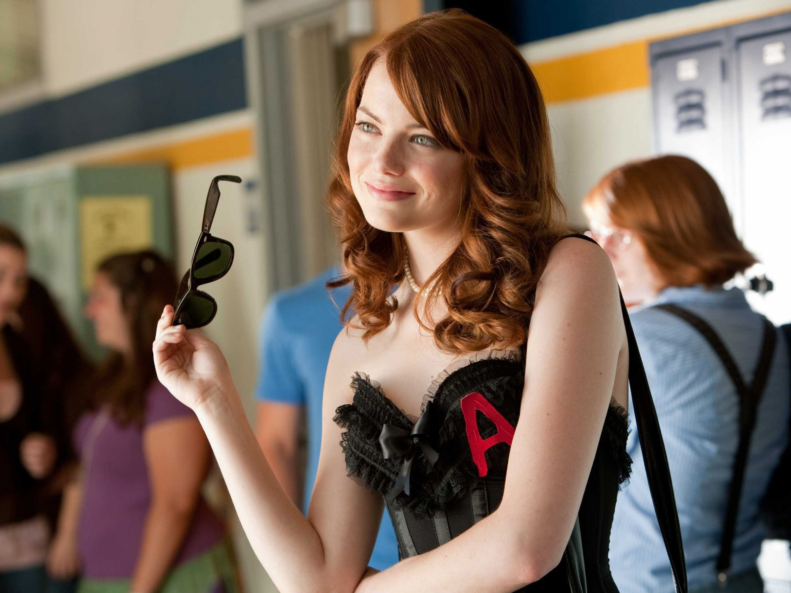 Emma Stone in Easy girl (2010)