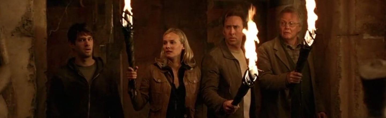 Il cast di National Treasure alla ricerca di una scusa decente per un sequel