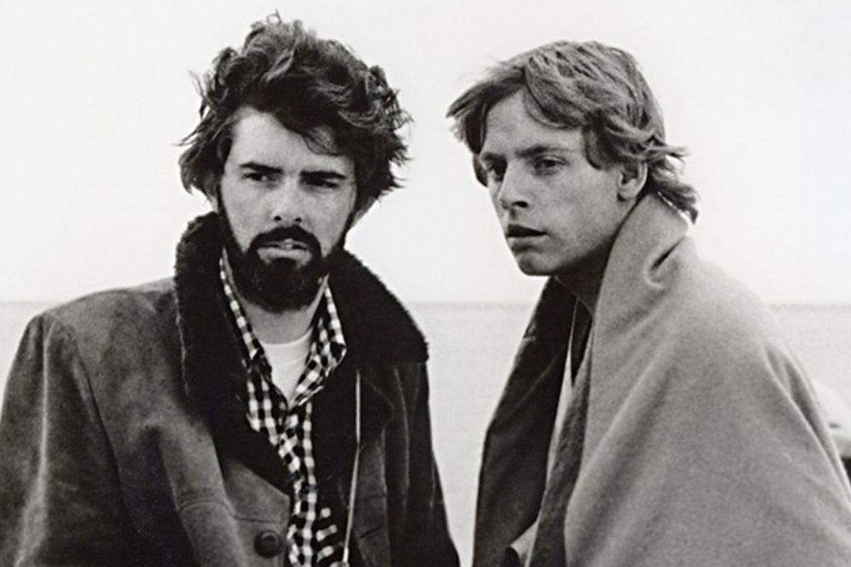 George Lucas e Mark Hamill fanno la storia