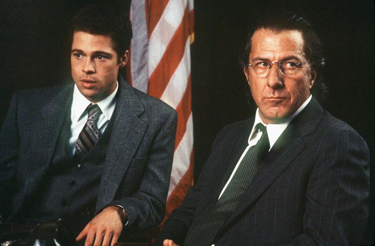 Brad Pitt e Dustin Hoffman