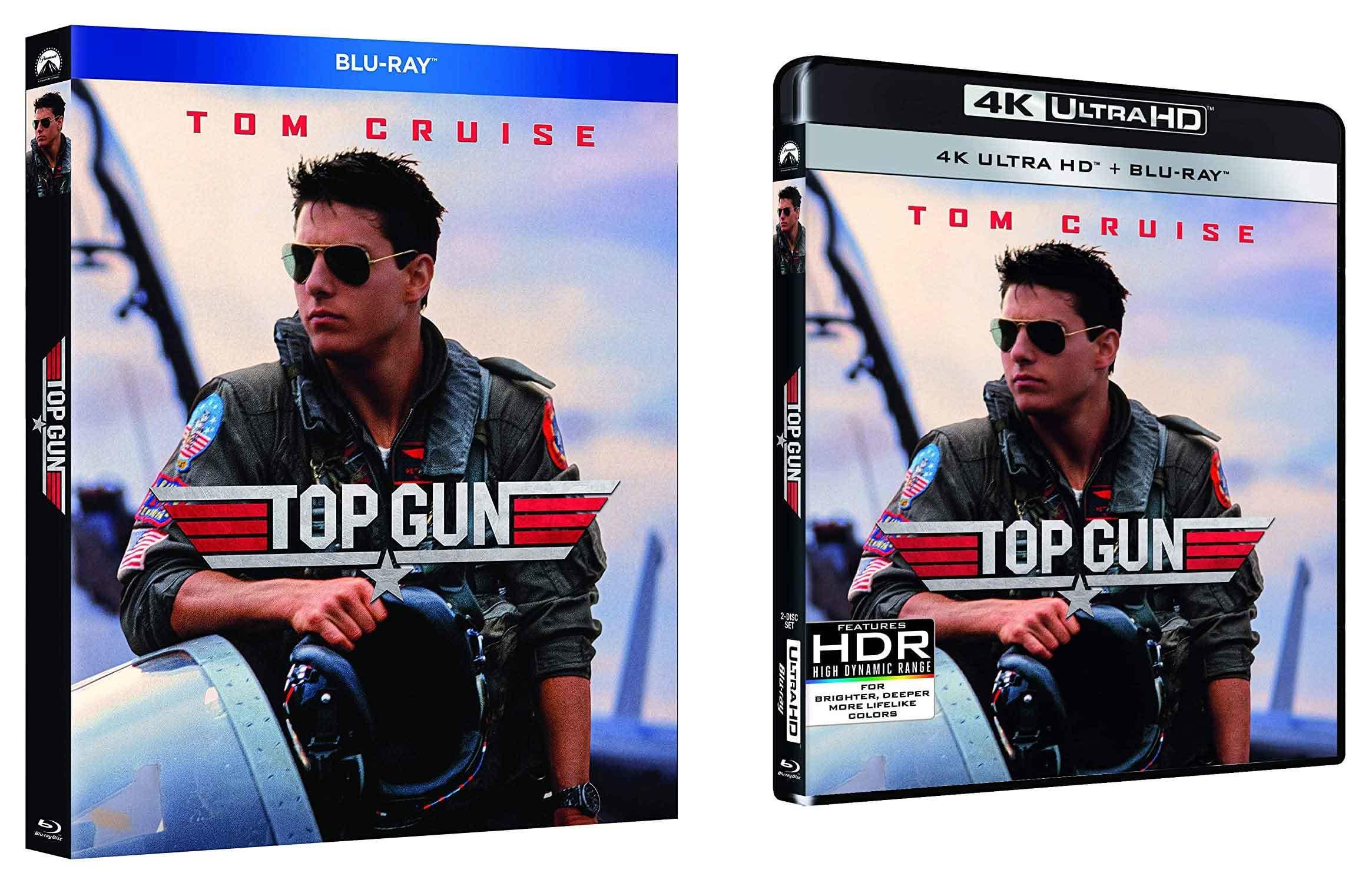 Top Gun rimasterizzato in Blu-ray e 4K Ultra HD