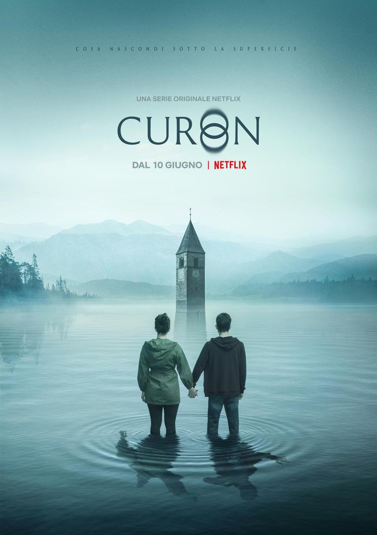 Curon: il poster della serie Netflix