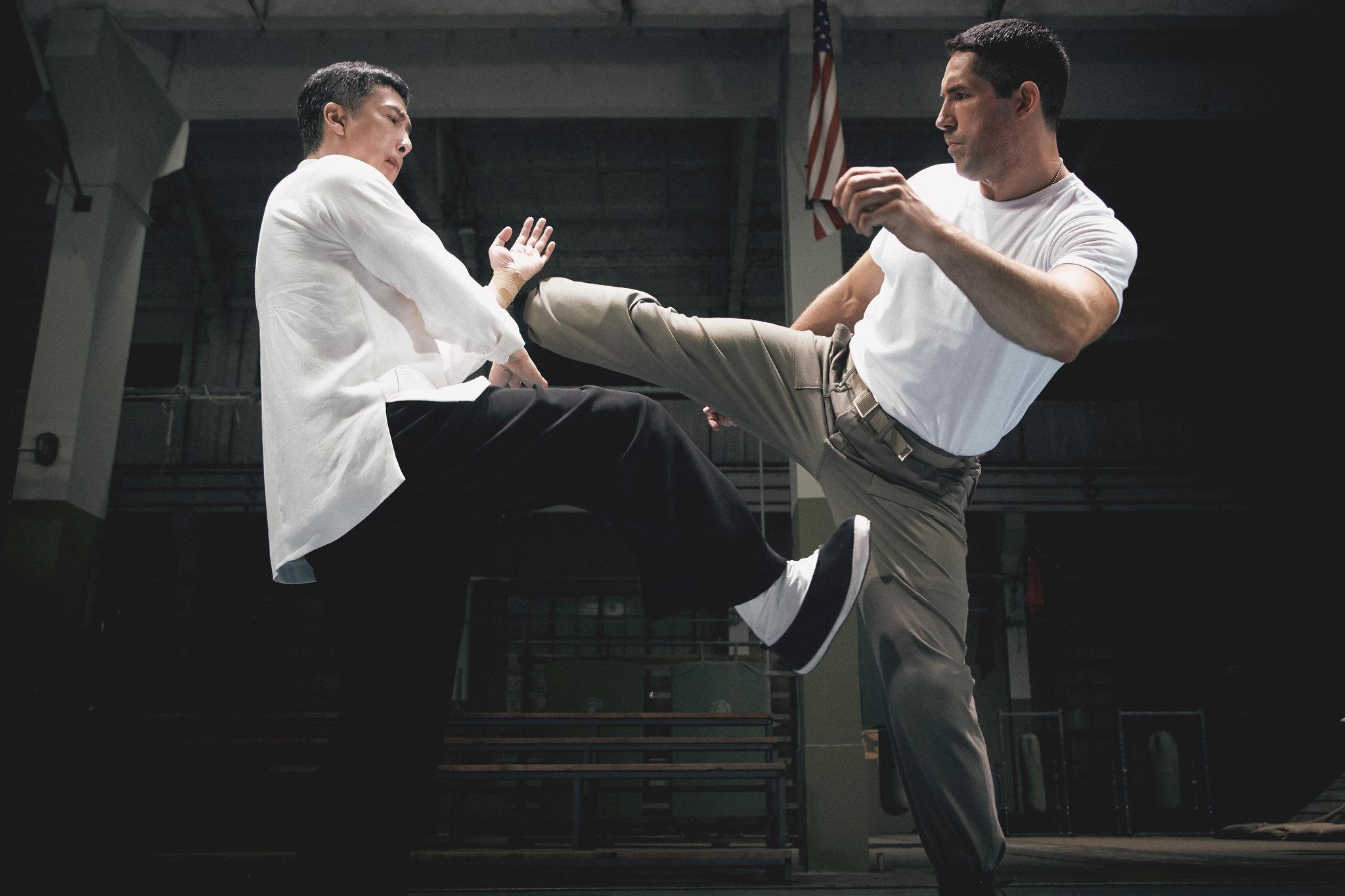 Donnie Yen e Scott Adkins