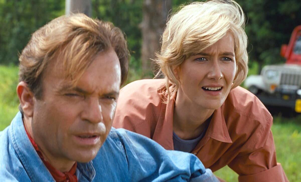 Sam Neill e Laura Dern