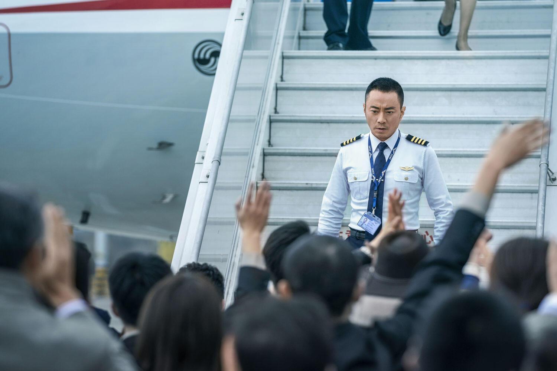 Hanyu Zhang in una scena del film