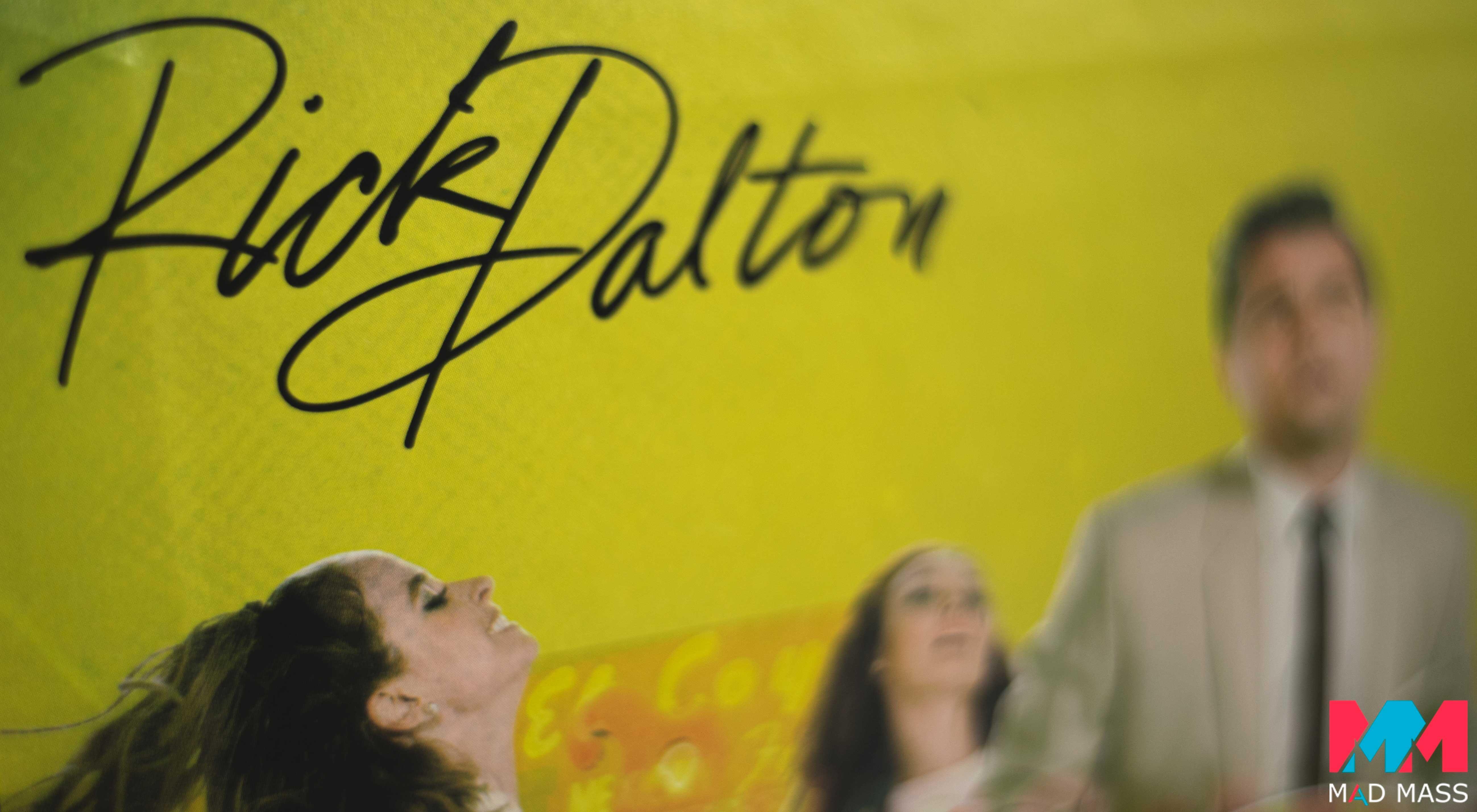 La firma di Rick Dalton