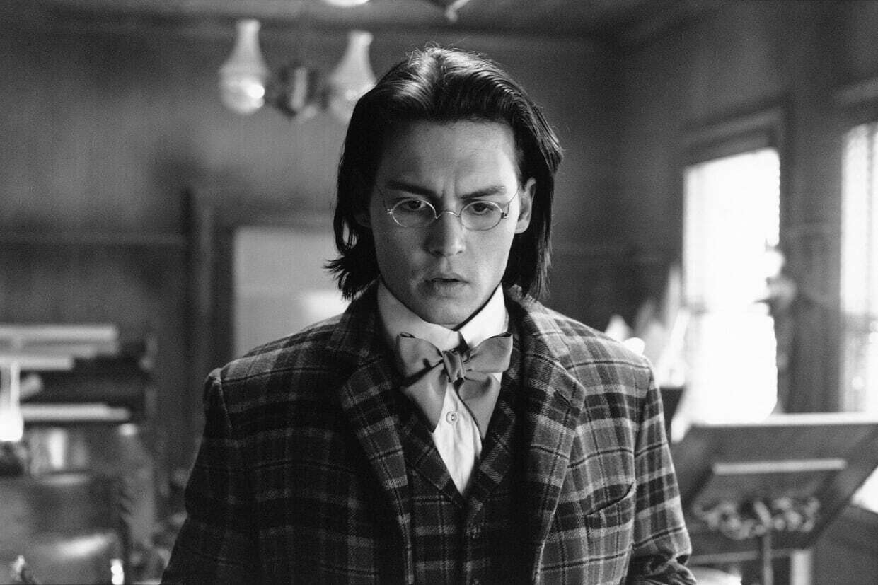 Johnny Depp in Dead Man di Jim Jarmush