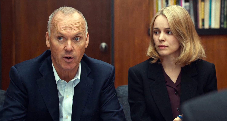 Michael Keaton e Rachel McAdams