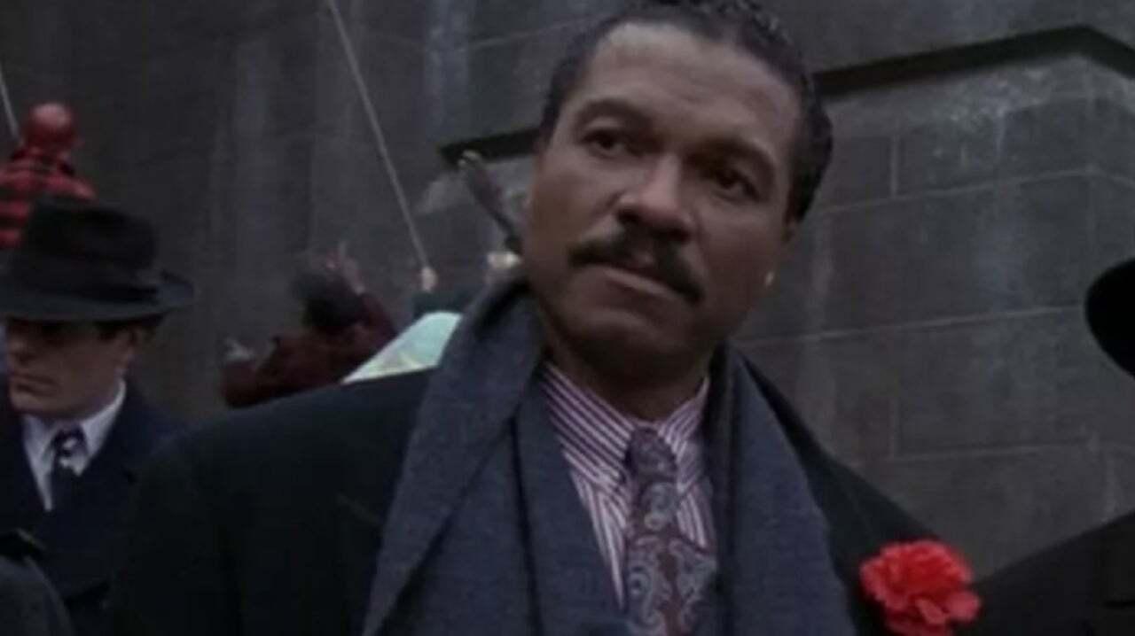 Billy Dee Williams è Harvey Dent nel Batman di Tim Burton