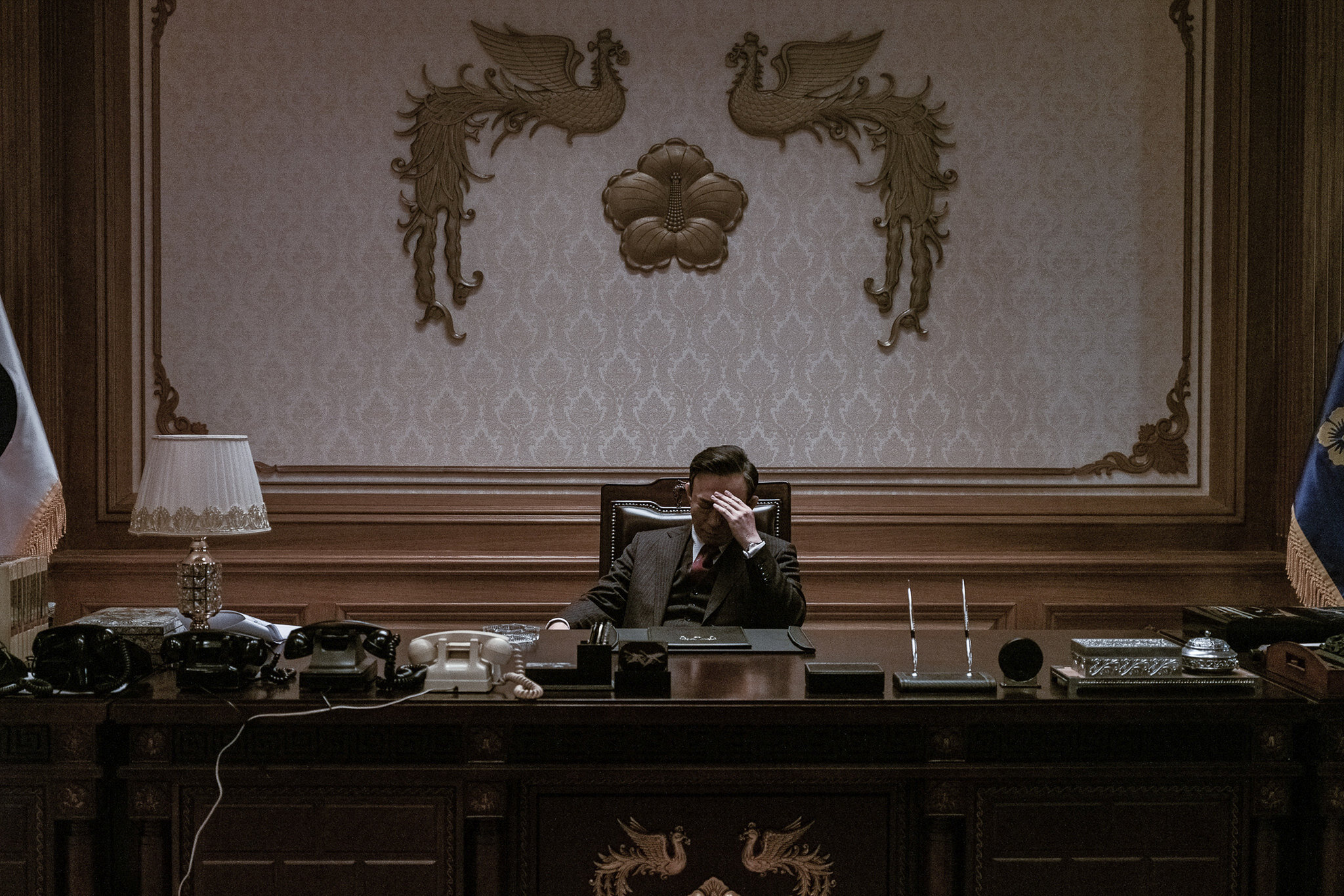 Sung-min Lee è il presidente della Corea del Sud Park