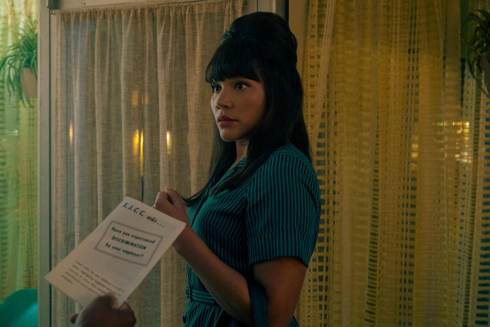 Emmy Raver-Lampman è Allison Hargreeves