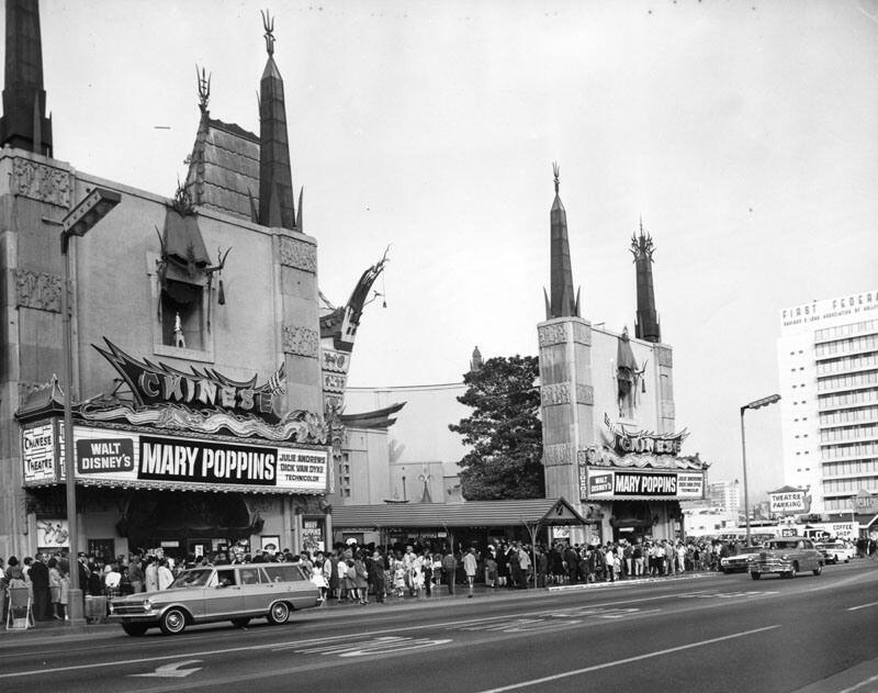 L'anteprima di Mary Poppins nel 1964