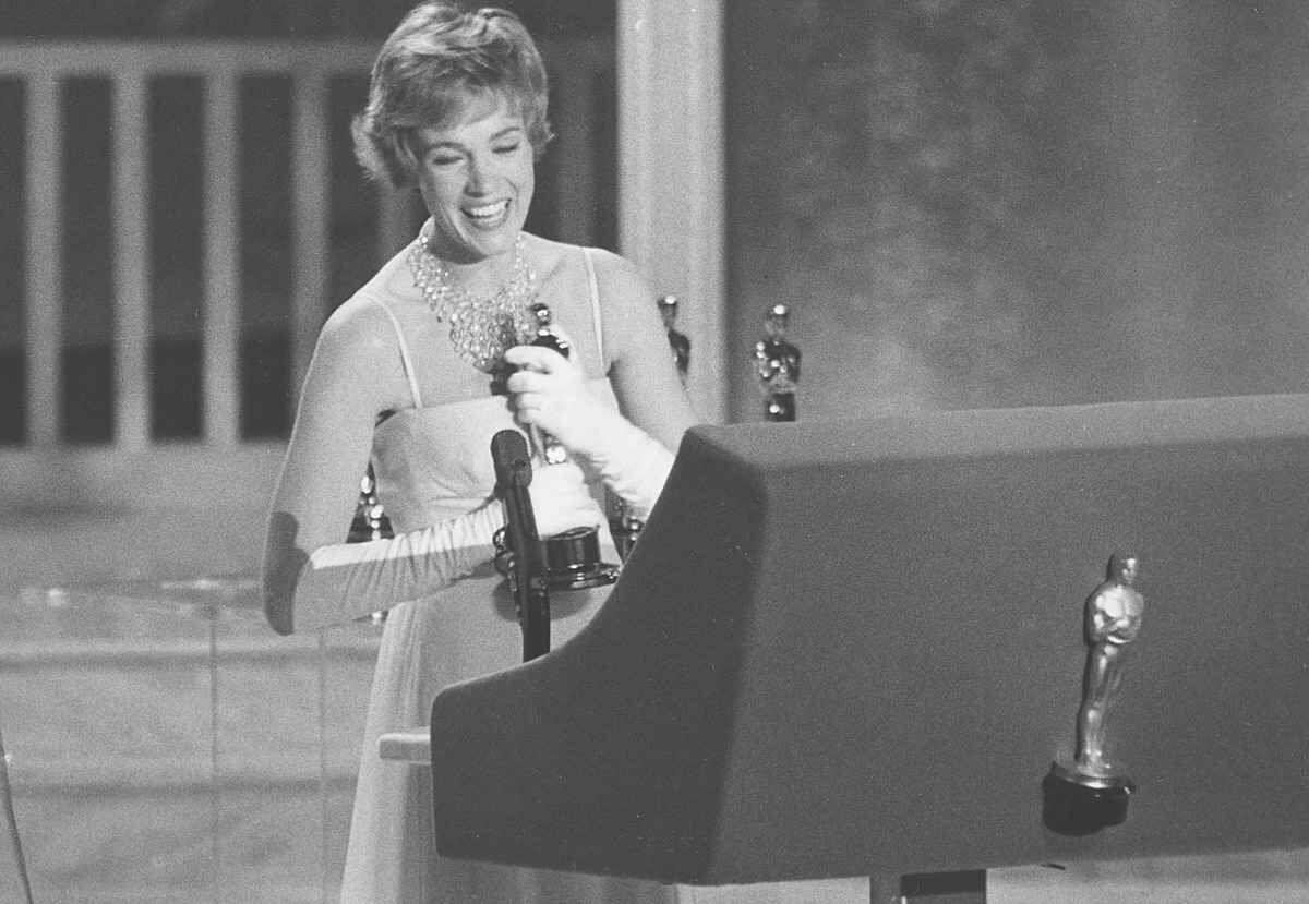 Julie Andrews agli Oscar