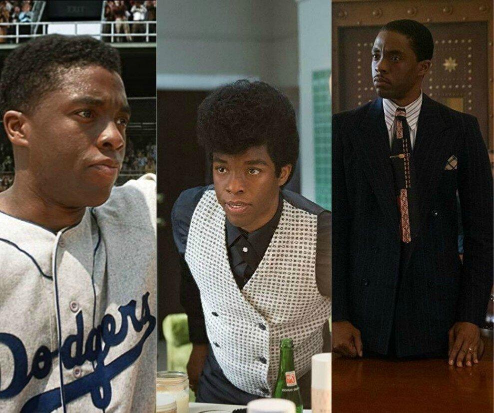 ackie Robinson, James Brown e Thurgood Marshall