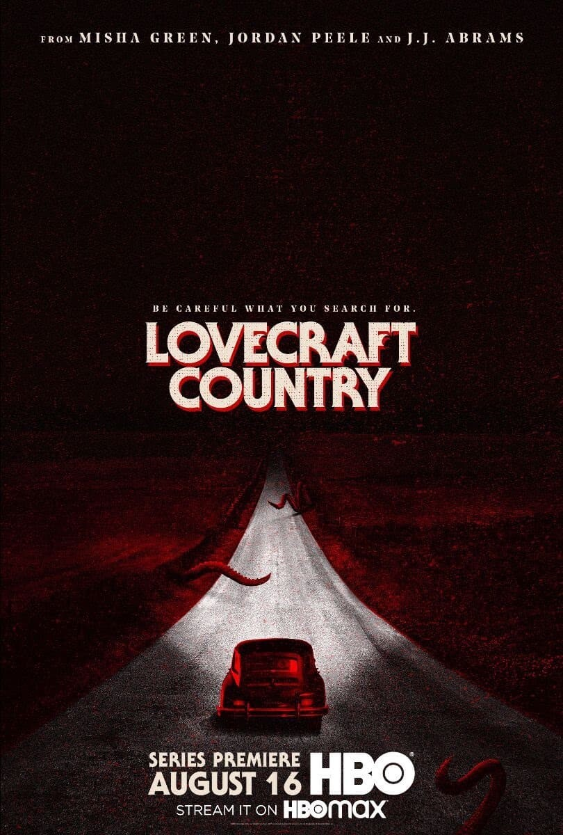 Il poster di Lovecraft Country