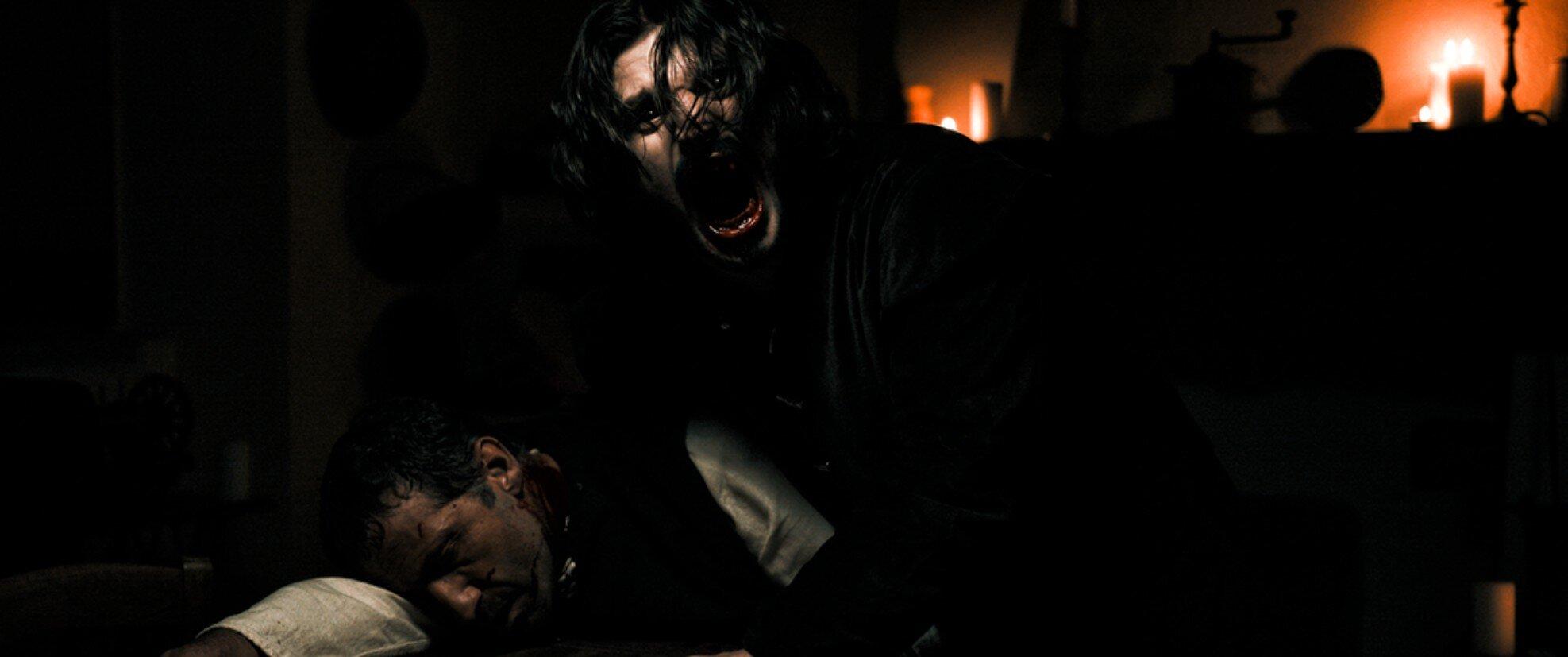 Roberto D'Antona in una scena di Caleb