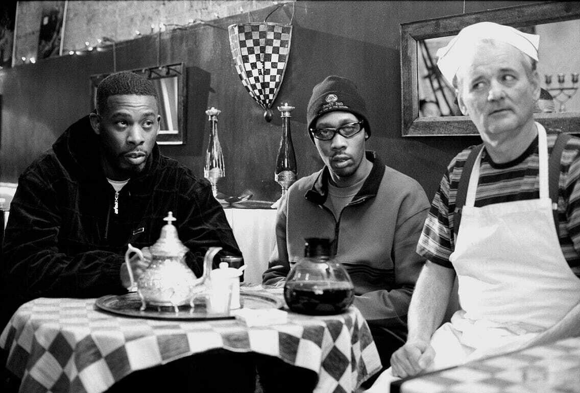 GZA, RZA e Bill Murray
