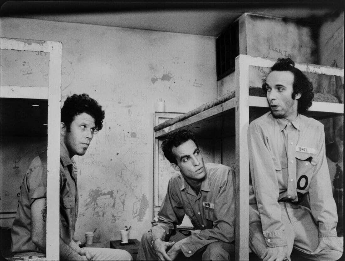 Tom Waits, John Lurie e Roberto Benigni