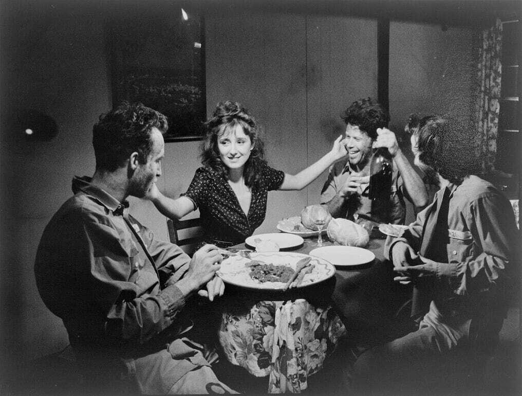 Tom Waits, John Lurie, Roberto Benigni e Nicoletta Braschi