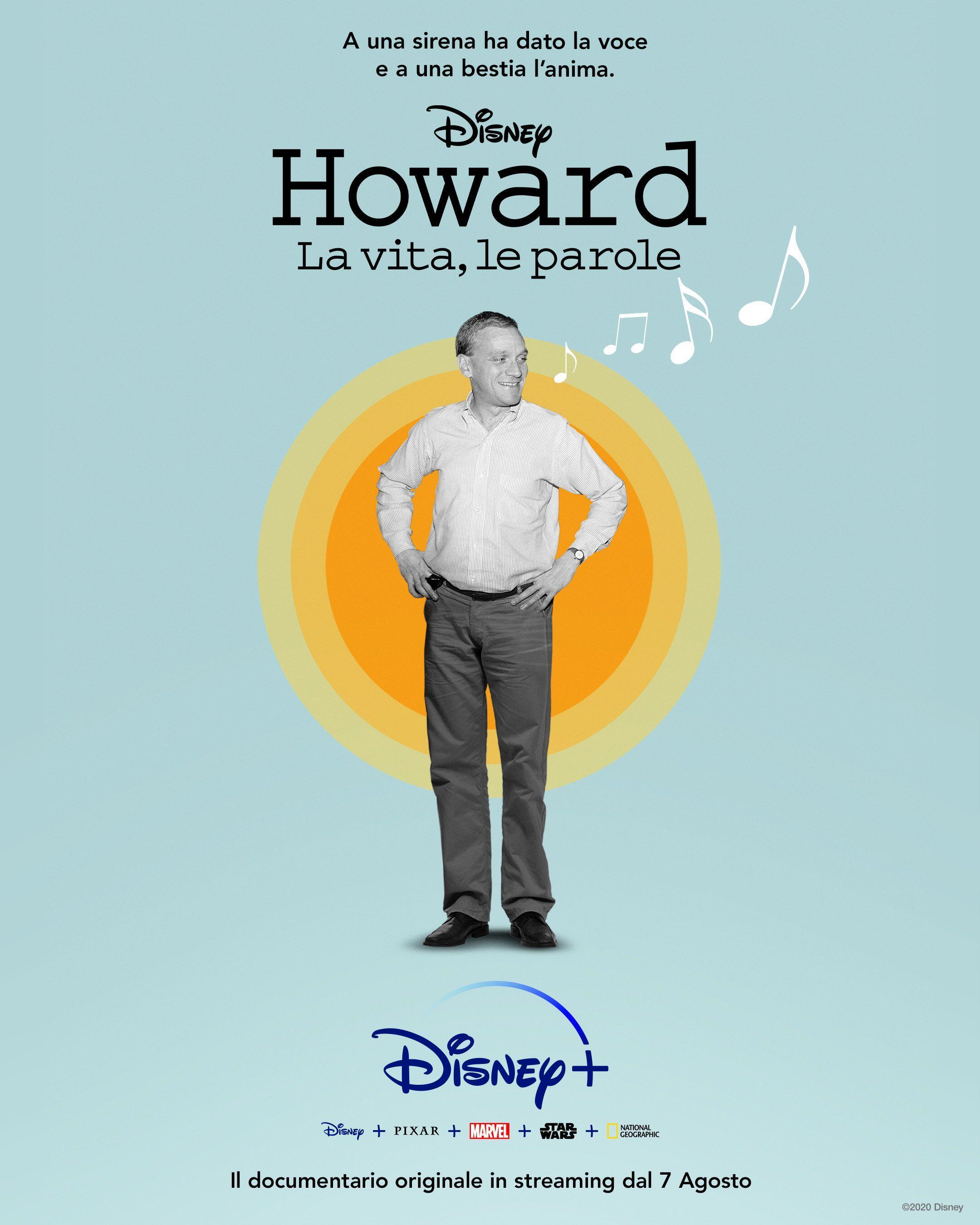 Howard: la vita, le parole il poster