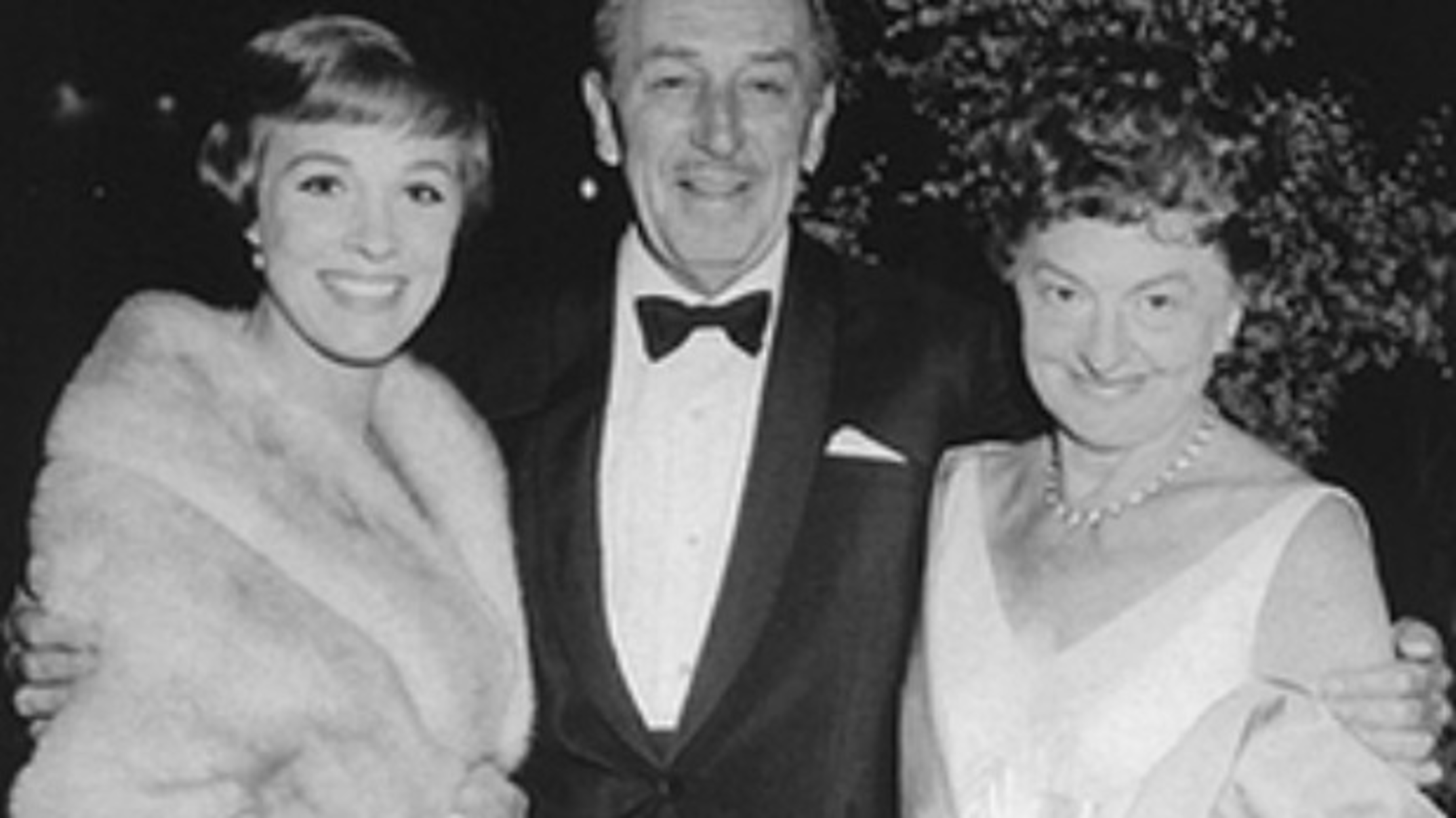 Julie Andrews, Walt Disney e Pamela Lyndon Travers
