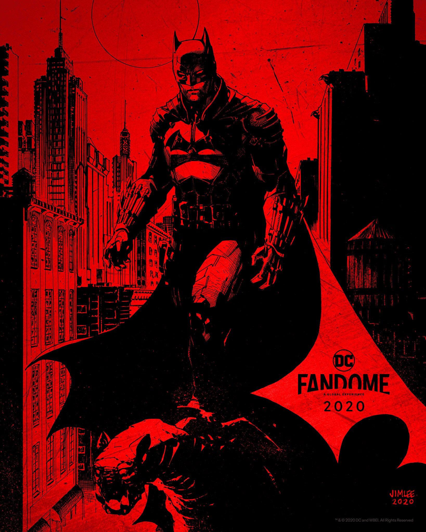 The Batman: l'artwork di Jim Lee