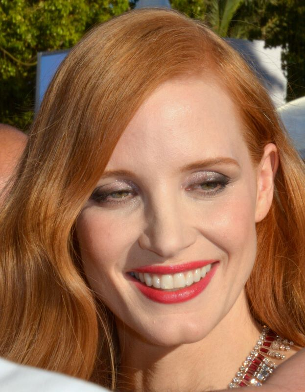 Jessica Chastain (Credit: Georges Biard - Wikimedia Commons - licenza CC BY-SA 3.0)